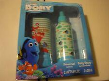 New ! 2 Pcs Dory by  Disney Fragrance Set Shower Gel and Body Spray