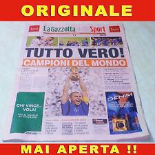 ITALIA MONDIALI GERMANIA 2006 Campioni del mondo Gazzetta dello sport NORISTAMPA