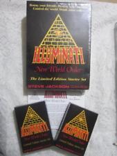 *LARGE BOX*  Limited Starter Set  Illuminati INWO Card Game  ULTRA-RARE *SEALED*