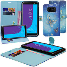 For Samsung Galaxy S8 Card Holder Magnetic Flip Leather Wallet Stand Case Cover