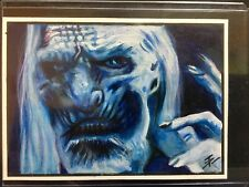 Game of Thrones Hand-Drawn Color Sketch Card by Tim Proctor White Walker 1/1