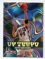 1999-00 NBA Hoops KEITH VAN HORN Rare UP-TEMPO Refractor-Like CARD #6 NETS Utah