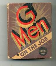 G-Men On the Job     Big Little Book    1935     Whitman
