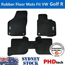Prime Quality All Weather Rubber Car Floor Mats for VW GOLF R Line MK6