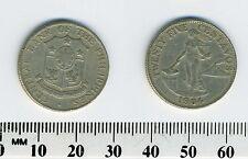 Philippines 1964 - 25 Centavos Copper-Nickel-Zinc Coin - Female standing