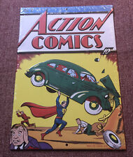 New Still Sealed Action Comics #1 Metal Tin Wall Sign 1st Appearance Superman