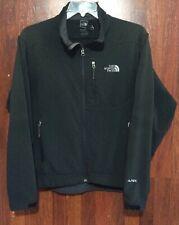 M North Face Men's Apex Soft Shell Fleece Lined Jacket Zip GRAY