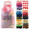 Pink Bag Pack Hair Scrunchies Velvet Scrunchy Bobbles Elastic Hair Bands Holder