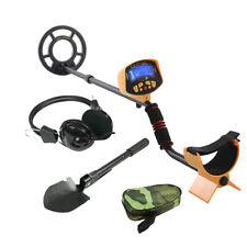 MD-3010II Metalldetektor Metallortungsgerät mit Kopfhörer & Schaufel Tiefensonde