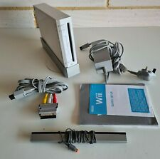 Nintendo Wii Console & Leads Bundle - Tested Working