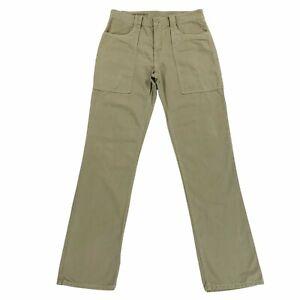 Save Khaki United SKU Fatigue Chino Pants Beige Mens Size 30 Measure 31x32