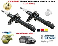 FOR RENAULT MEGANE 2 BERLINA 2003 >NEW 2X FRONT SHOCK ABSORBER SHOCKER SET