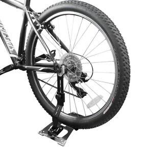 Ibera Bike Floor Stand Storage Foldable Non-Scratch Bicycle Repair Stand EBike