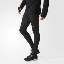 ADIDAS MEN'S SUPERNOVA RUNNING GYM LONG TIGHTS PANTS GYM SPORT 2015 BLACK L