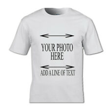 PERSONALIZED PHOTO T-SHIRT PLUS TEXT OR WITHOUT PERSONAL GIFT PHOTO MEMORY