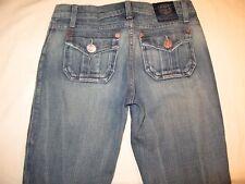 Rock & Republic Kiss Jeans Flap Pocs Distressed Sz 25