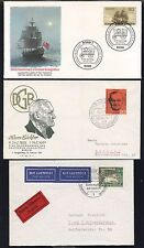 12 GERMANY FDC 1961-83 SOME CACHETED, SOME UNADDRESSED