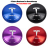 For Tesla Model 3 X S Aluminum Car Aromatherapy Solid aromatherapy 4Colors