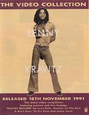 Lenny Kravitz VOX LP advert