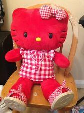 build a bear hello kitty red heart