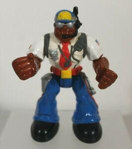 Mattel Rescue Heroes Policeman Toy Hero
