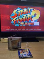 STREET FIGHTER COLLECTION 2 PS1 Game Complete And Tested PAL