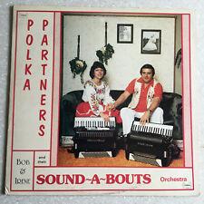 Polka Lp Vinyl Record Bob & Irene Sound A Bouts TANDA # 4031  1985'