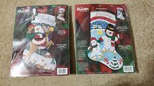 2 Christmas Stocking Craft Kits