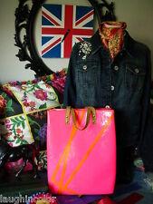 Ultra RARE LOUIS VUITTON Robert Wilson Pink Vernis LV Purse Tote Shoulder Bag 02