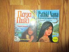 Naya Nuki: Shoshoni Girl Who Ran + Girl solves Mystery  Kenneth Thomasma - AUTO*