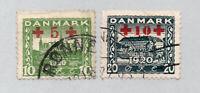 Denmark - Sc# B1 & B2 Used      /      Lot 0121600