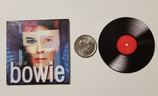 Miniature record Album Barbie Gi Joe 1/6   Playscale  David Bowie Best of Bowie