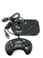 Sega Genesis Clutch Joystick Controller Asciiware 5700 & 1650 Retro Game