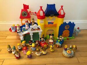 Fisher Price Little People  Disney Magic Kingdom Musical Castle 22 Figures