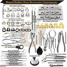 Range Of Dental Rubber Dam Clamps All Teeth Restorative Endodontic Clamp Forceps