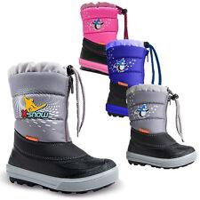 DEMAR Kinder Winterstiefel Winterschuhe mit WOLLE Schneestiefel Snowboots KENNY
