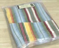 Longaberger Sunflower Stripe Liner for Coastal Tote Basket