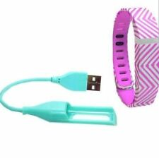 Pink & White Smart Buddie Activity Tracker Band & Charger Only for Fitbit Flex
