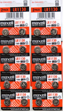 New Maxell LR1130 AG10 189 1130 LR54 Battery Pack 20 pcs Fresh Expire Dec-2017