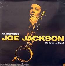 JOE JACKSON 1984 BODY AND SOUL PROMO POSTER ORIGINAL