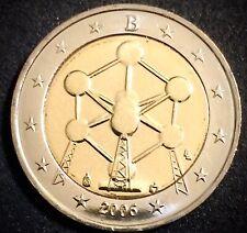 Moneda Belgica 2006 2 Euros Belgica conmemorativa Atomium.SIN CIRCULAR