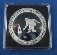 2000 de Ptas. barcelona 1992 Olympia plata pp