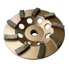 "4.5"" Concrete Grinding Cup Wheels 9 Diamond Abrasive Seg 5/8""-11 Arbor"