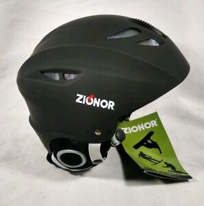 ZIONOR H1 Ski Snowboard Helmet Men/Women Air Flow Adjustable Size L