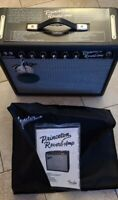 Fender '65 Princeton Reverb 2015 Black 15W 1x10Tube Guitar Amplifier