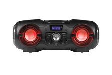MEDION LIFE P65104 mobiles Bluetooth CD Party Soundsystem Ghettoblaster Licht