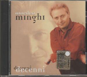 CD  AMEDEO MINGHI - DECENNI - SORRISI E CANZONI