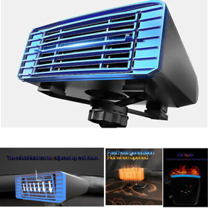 2 in 1 Portable Car Vehicle Heating Heater Cooler Fan Defroster Demister DC 12V