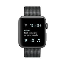 Apple Watch Series 2 42mm Aluminum Case Black Classic Buckle - (MP072LL/A) #N6-1