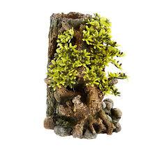 Planta Bonsai ✔ 3411 con registro de árbol Ornamento Peces Tanque Acuario Decoración ✔